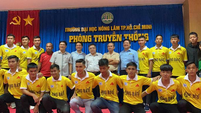 Bầu Đức hứa để Công Phượng, Tuấn Anh đá giao hữu với sinh viên ĐH Nông Lâm TP. HCM